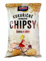 Chipsy šunka křen