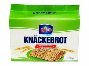 Knäckebrot with sesame seeds