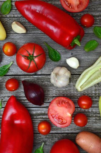 Grilovaná zelenina v Raciolkách Racio