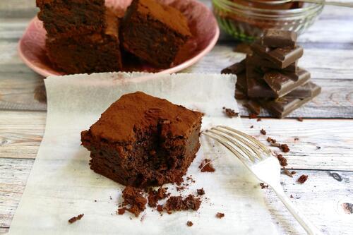 Rychlé čokoládové brownies
