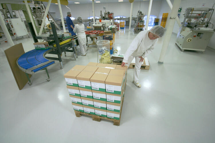 RACIO balení produktů